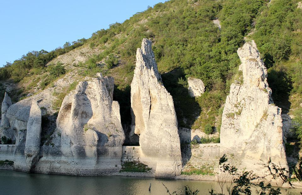 Bulgaria, Dalgopol, The Wonderful Rocks, River, Nature