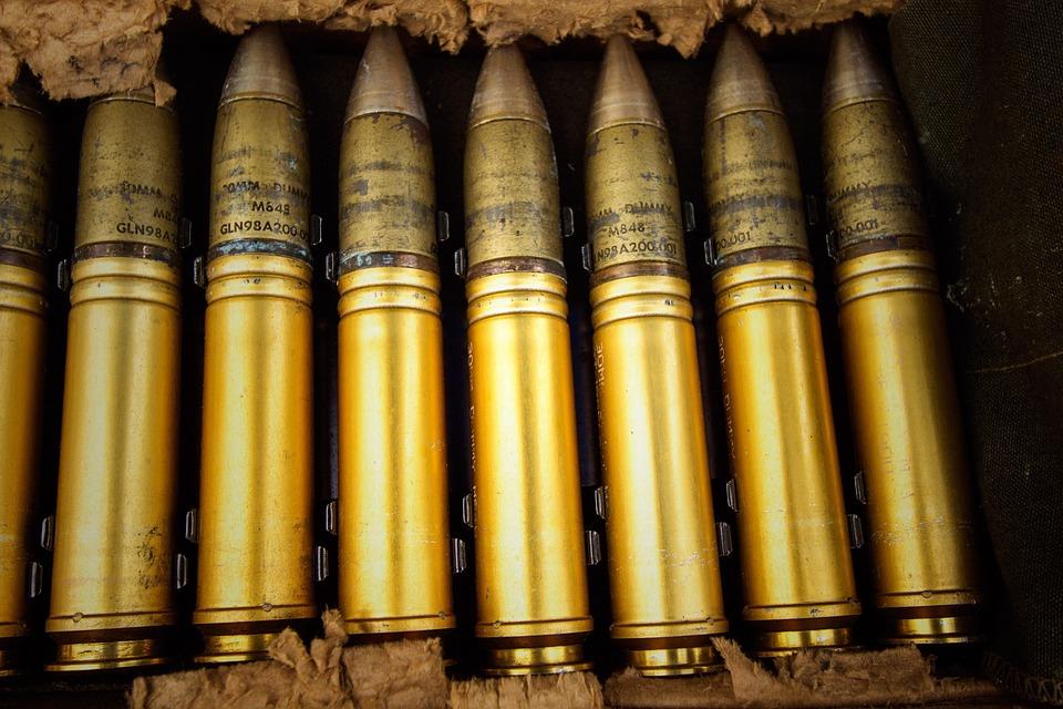 Weapon, Bullet, Military, Ammunition, Danger, Metal