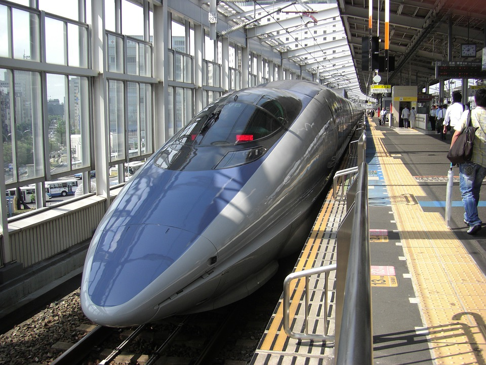 Bullet Train, Train, Nozomi, Japan, Train Station