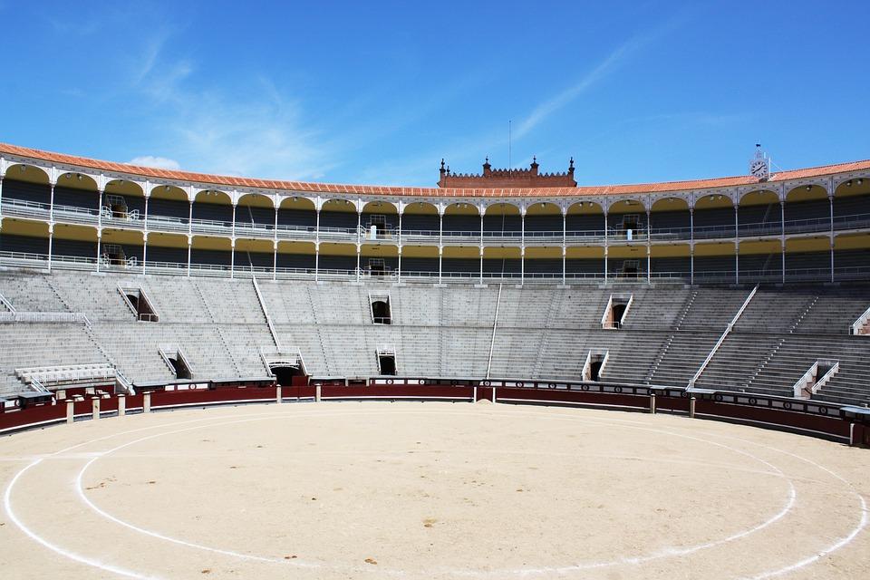 Arena, Bullfight, Madrid, Spain