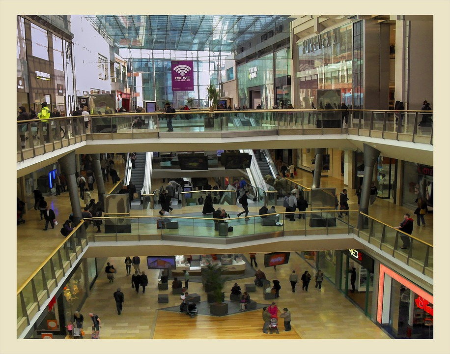 Birmingham, Shopping Center, Bullring, Shopping, Centre