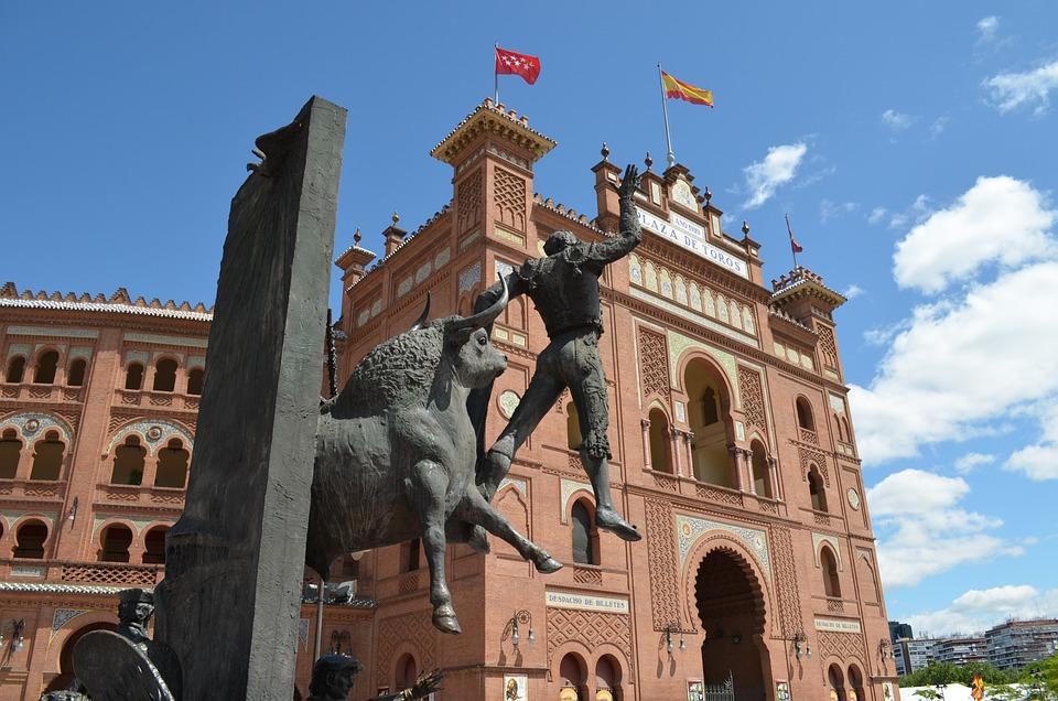 Bullfighting, Arena, Madrid, Spain, Bullring, Torero