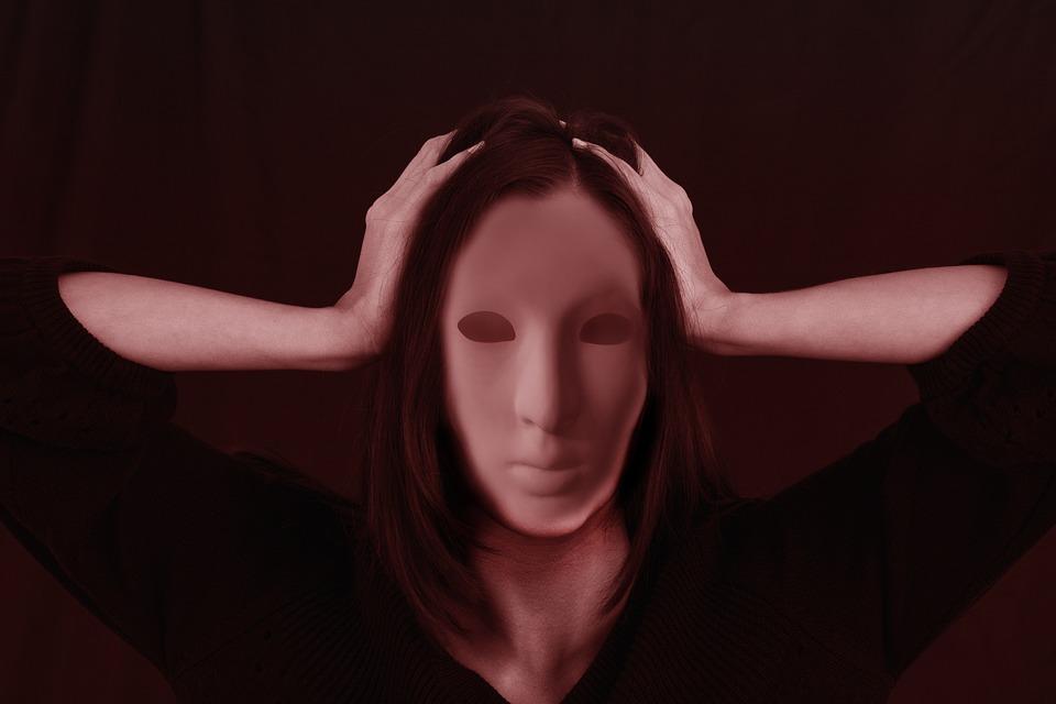 Woman, Face, Bullying, Stress, Shame, Be Ashamed, Hide