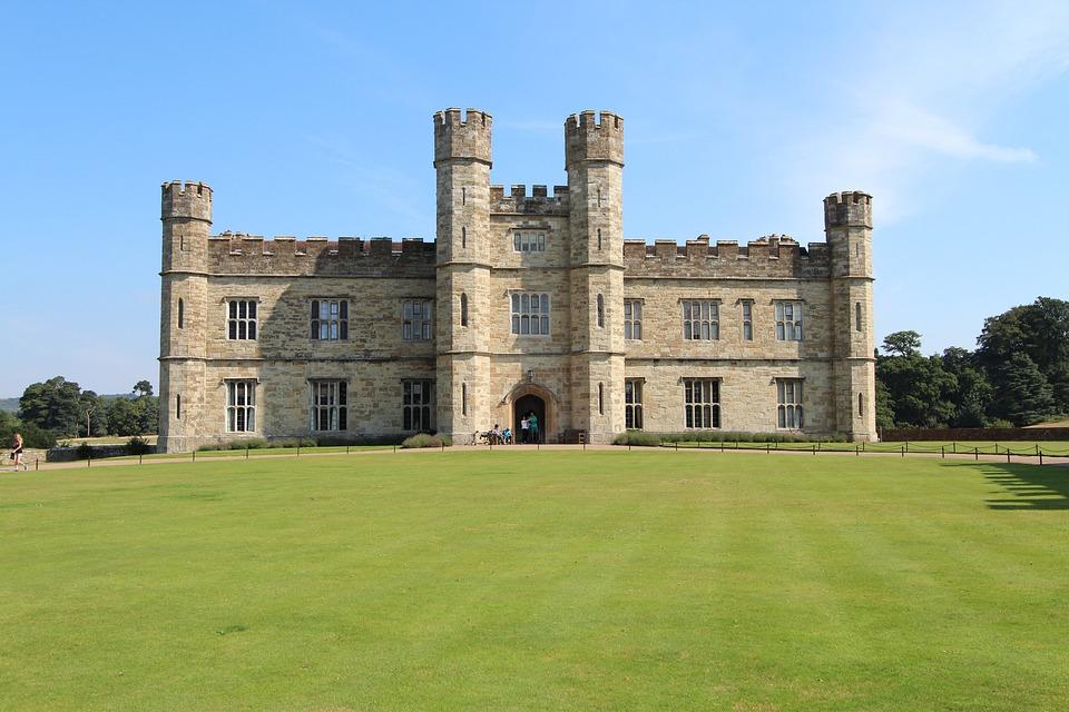 England, Leeds Castel, Castle, Bulwark, Architecture