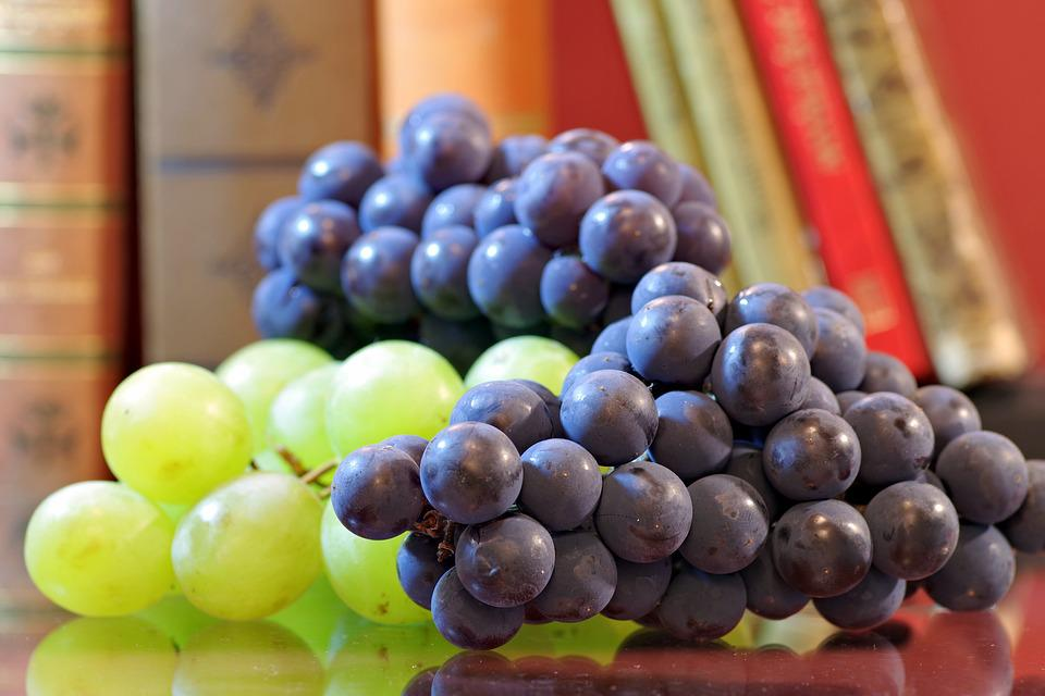 Grapes, Fruit, Sweet, Vines, Bunch Of Grapes, Violet