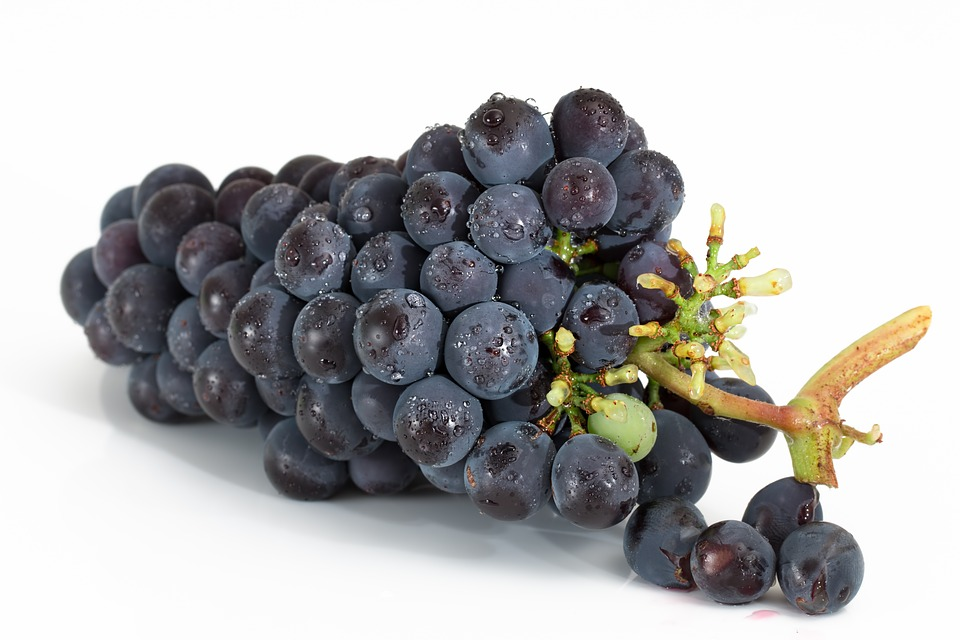 Grapes, Bunch, Fruit, Viticulture, Sweet, Red, Ripe