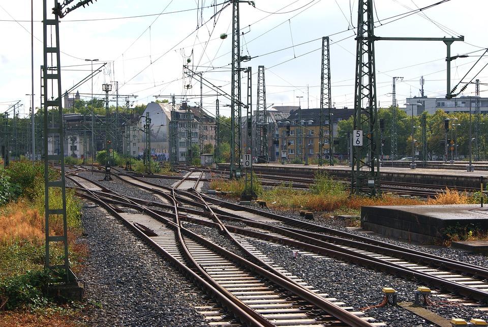 Bundesbahn, Railway Facilities, Db, Gleise, Railway