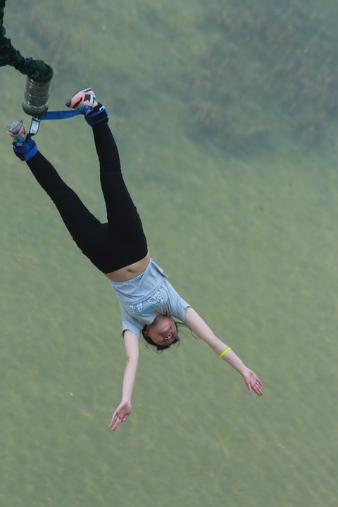 Bungee Jumping, Jump, Brave