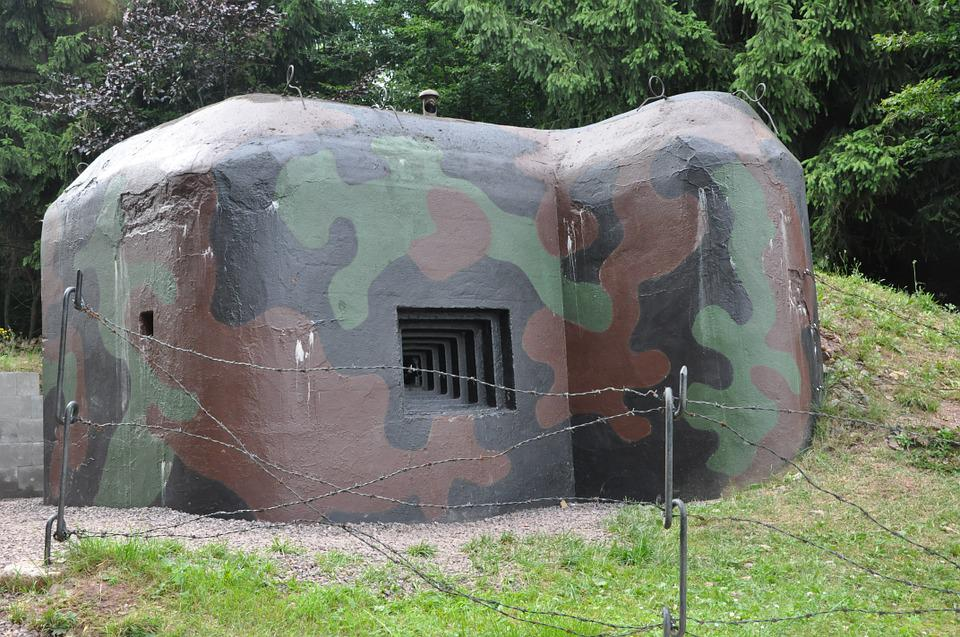 Bunker, Fortification, Fort, The War, Defense, Military