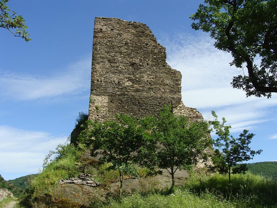 Burg Stahlberg, Bacharach, Rhine Valley, Fortress