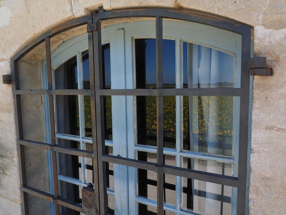 Window, Grate, Protected, Burglarproof, Theft, Burgle
