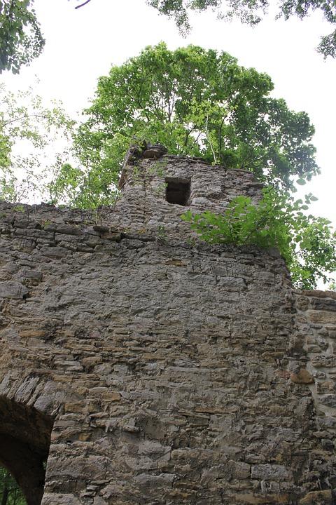 Castle, Burgruine, Look Forestry