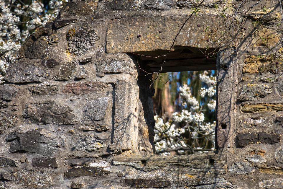Window, Ruin, Castle, Castle Windows, Burgruine, Decay