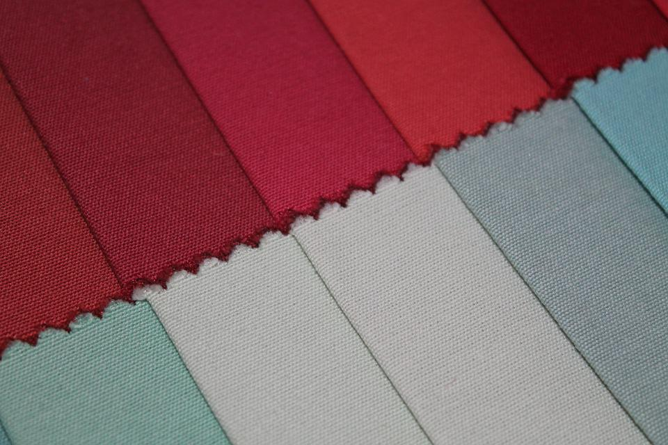 Contrast, Textile, Shades, Red, Grey, Burgundy, Blue