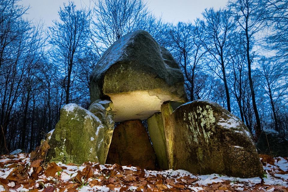 Viking Burial Stone Grave Ancient History