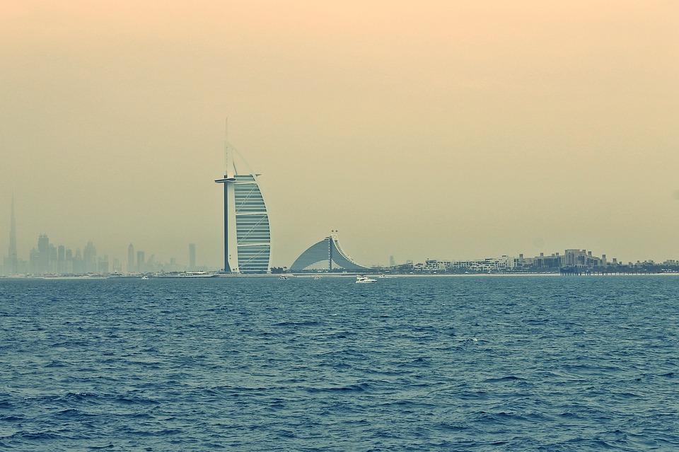 Burj Al Arab, Dubai, Emirates, Building, Architecture