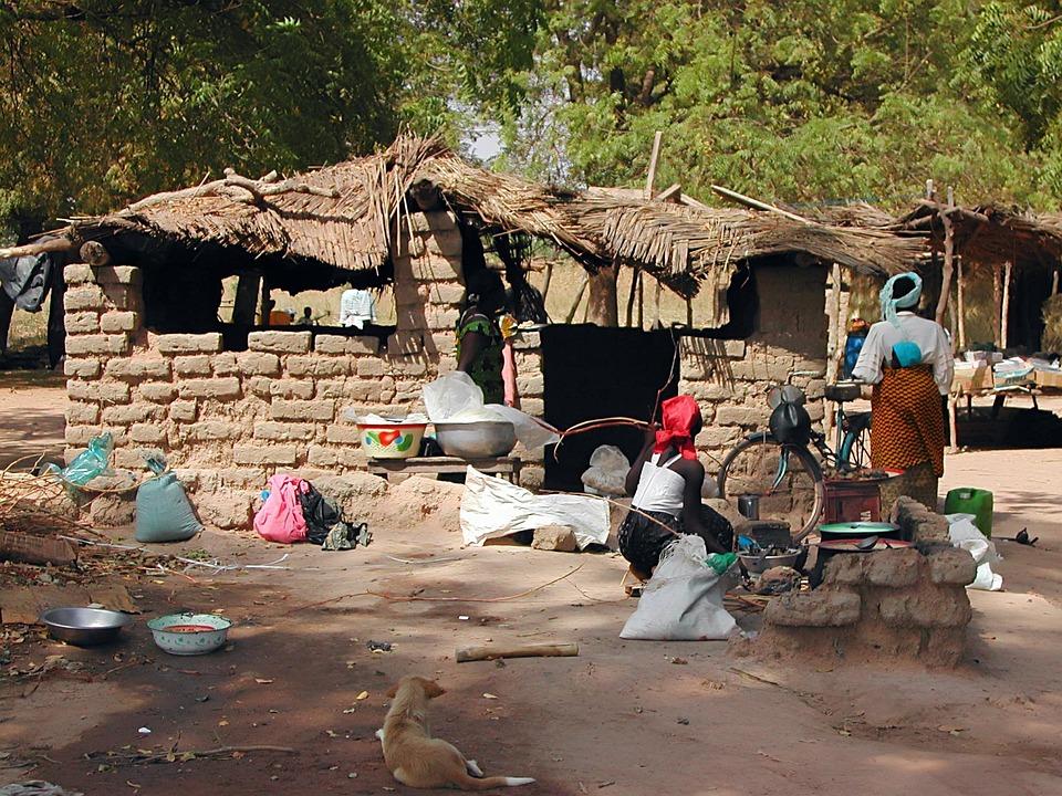Africa, Burkina Faso, Homes