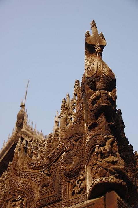 Nga Phe Kyaung Monastery, Myanmar, Burma, Mandalay