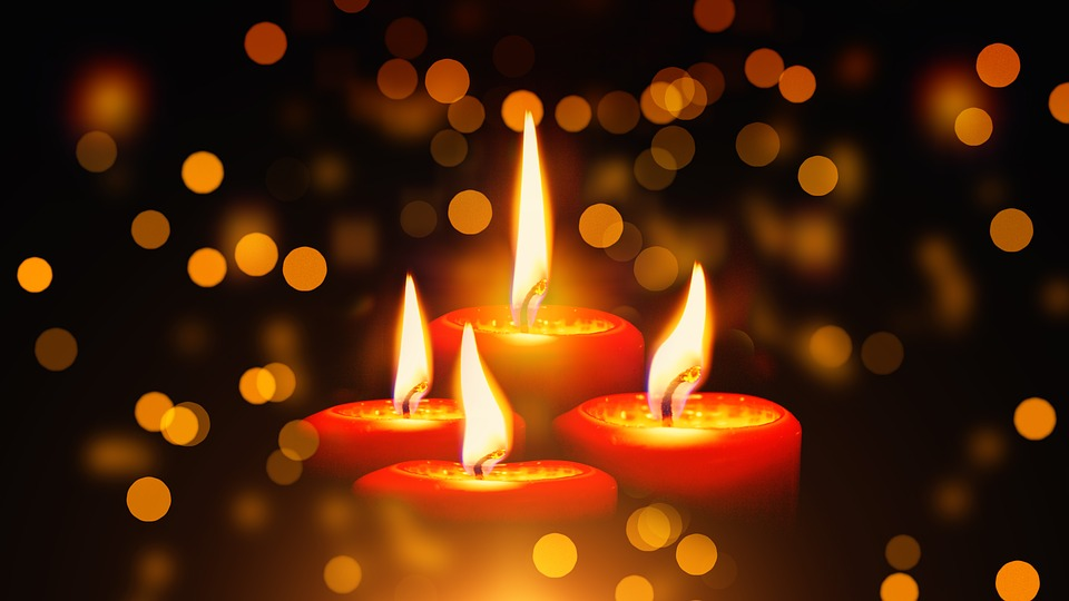 candles christmas advent light burn advent wreath - Candle Christmas Lights