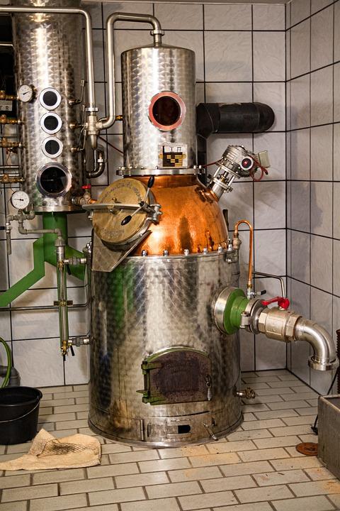 Destille, Brandy, Burn, Alcohol, Distill, Drink