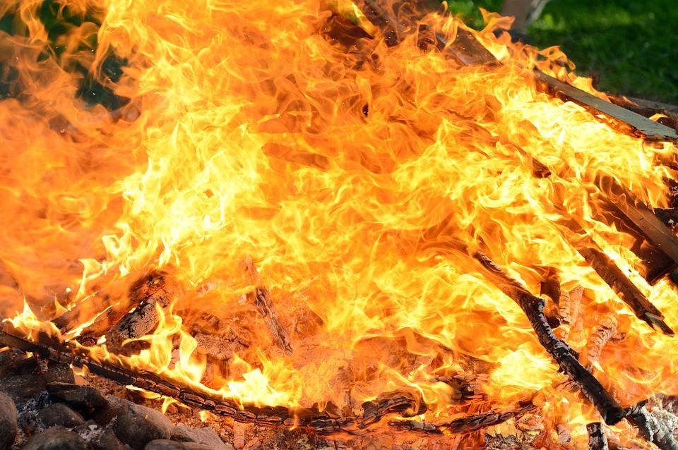 Fire, Campfire, Flame, Burn, Hot, Heat, Wood, Embers