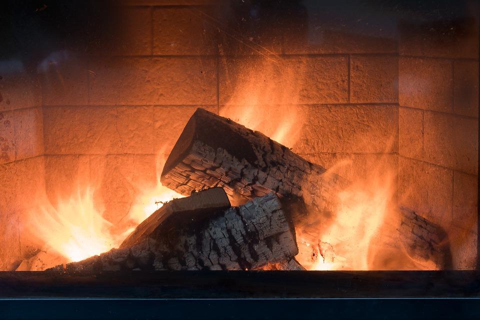 Fireplace, Fire, Heat, Burn, Hot, Flame, Wood, Firewood
