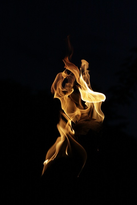 Fire, Light, Flame, Night, Burn, Heat, Energy, Hot