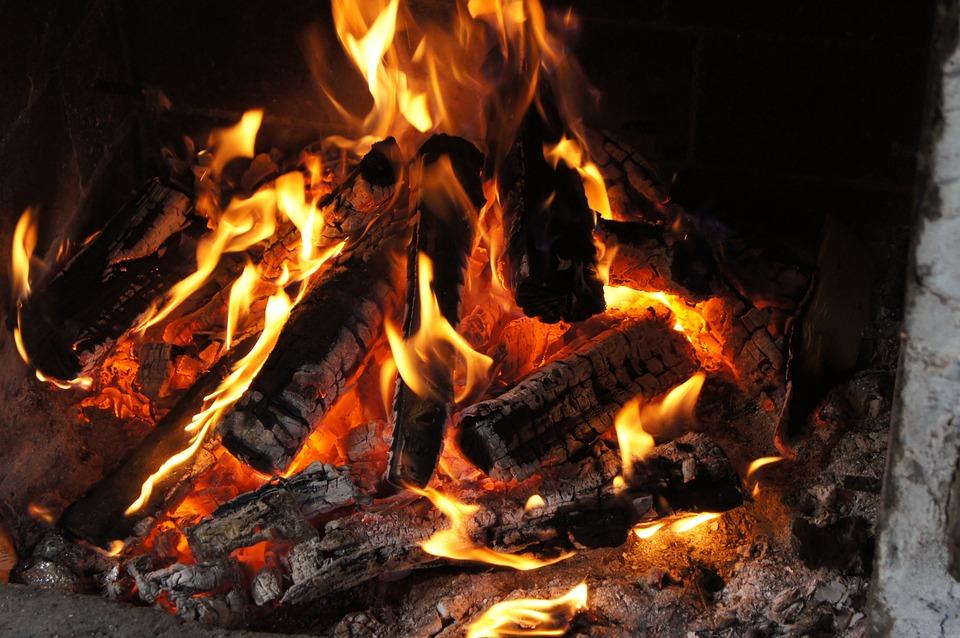 Fire, Fireplace, Censer, Burn, Relaxation, Wood, Smoke