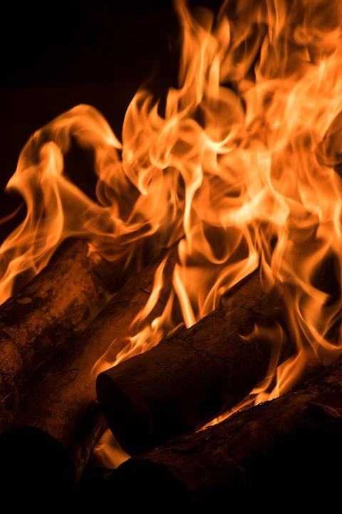 Fire, Burn, Flame, Campfire, Wood, Light, Hell, Embers