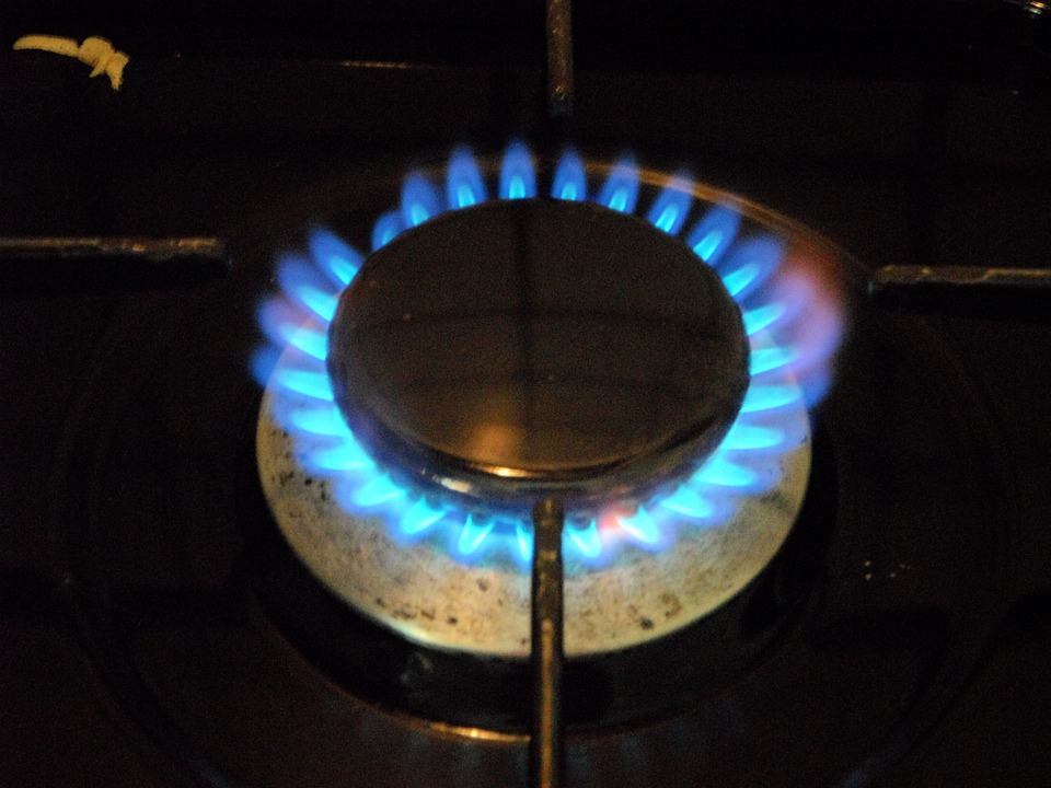 Gas Stove, Burn, Gas, Cook, Hotplate, Hot, Gas Flame