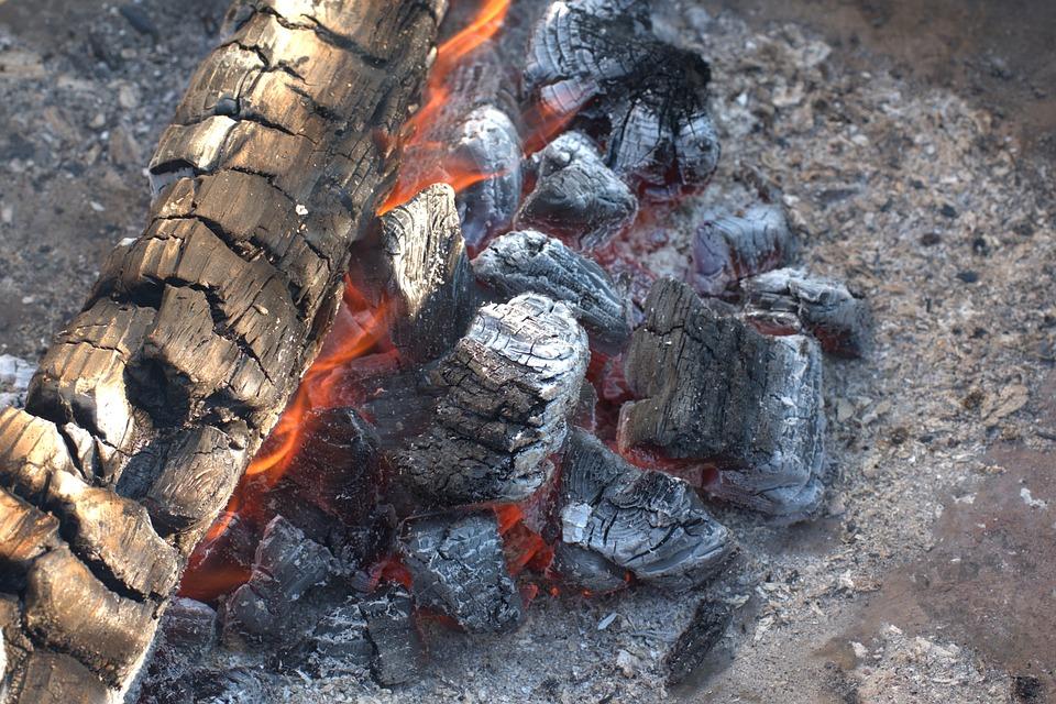 Fire, Embers, Garden Party, Campfire, Flame, Burn, Hot