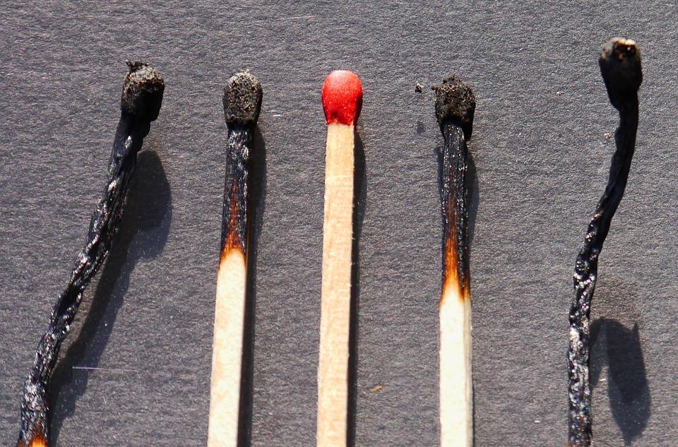 Match, Wood, Sulfur, Burn, Close, Matches, Lighter