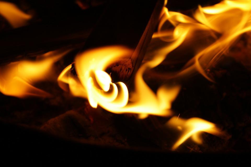 Fire, Wood Fire, Heat, Hot, Burn, Flame, Firewood