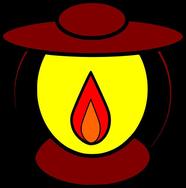 Oil Lamp, Burn, Flame, Lamp, Light, Burning, Lantern