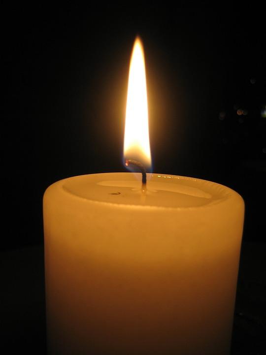 Burning Candle, Mood, Candle, Candlelight, Atmosphere