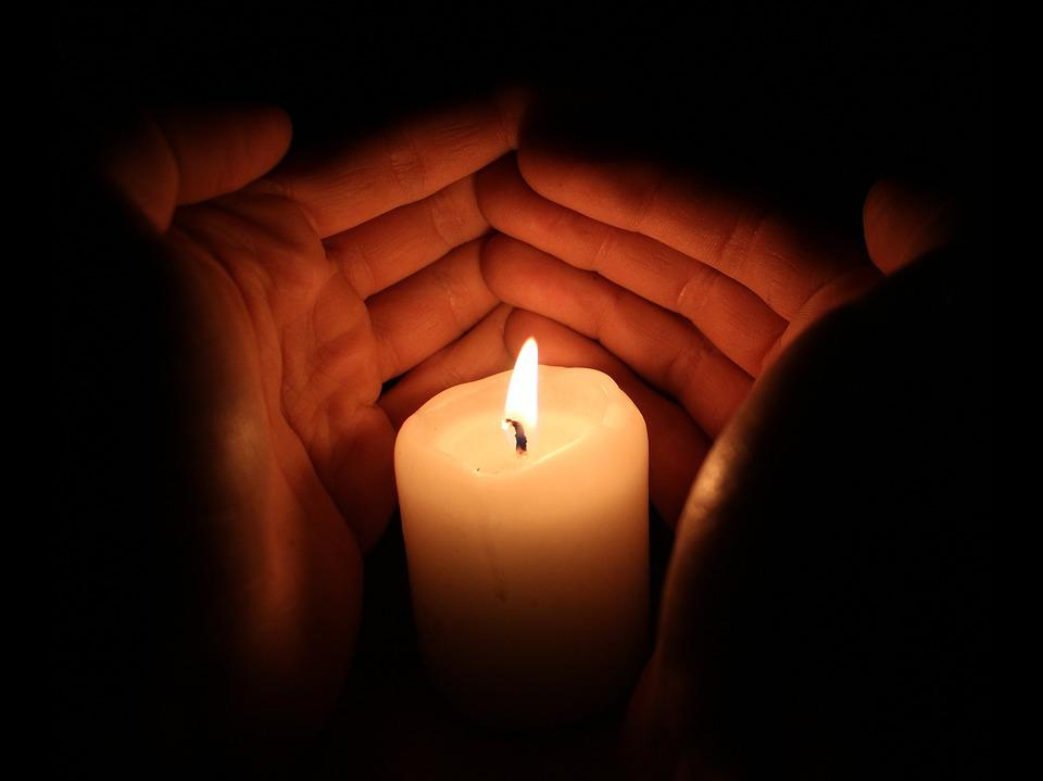 Light, Candle, Hands, Flame, Fire, Night, Burning