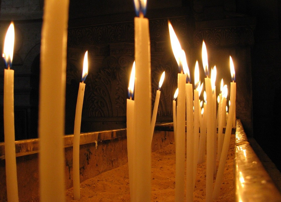 Candles, Church, Burning, Religion, Light, Flame, Fire