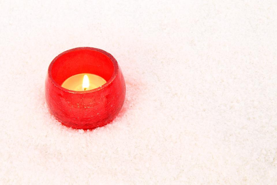 Burning, Candle, Celebration, Christmas, Decoration