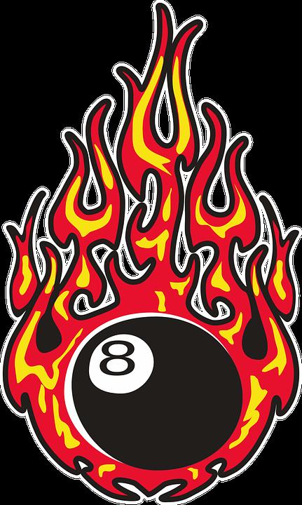 Eightball, Fire, Burning