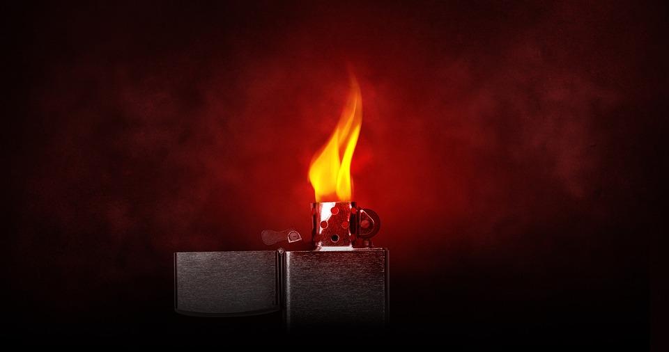 Flame, Lighter, Light, Burning, Kindle, Heat, Hot