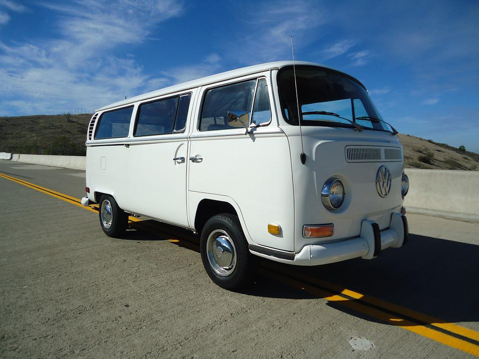 Vw, Volkswagen, Car, Automobile, Vintage, Bus, Type 2