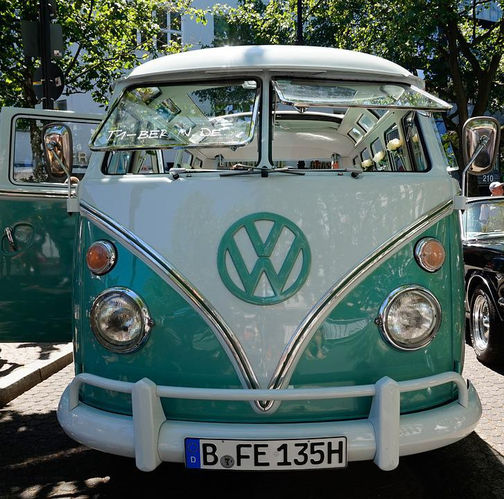 Auto, Vehicle, Transport System, Bus, Spotlight, Vw Bus