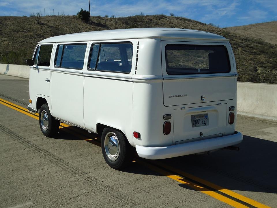 Vw, Volkswagen, Car, Automobile, Vintage, Bus, Type 2