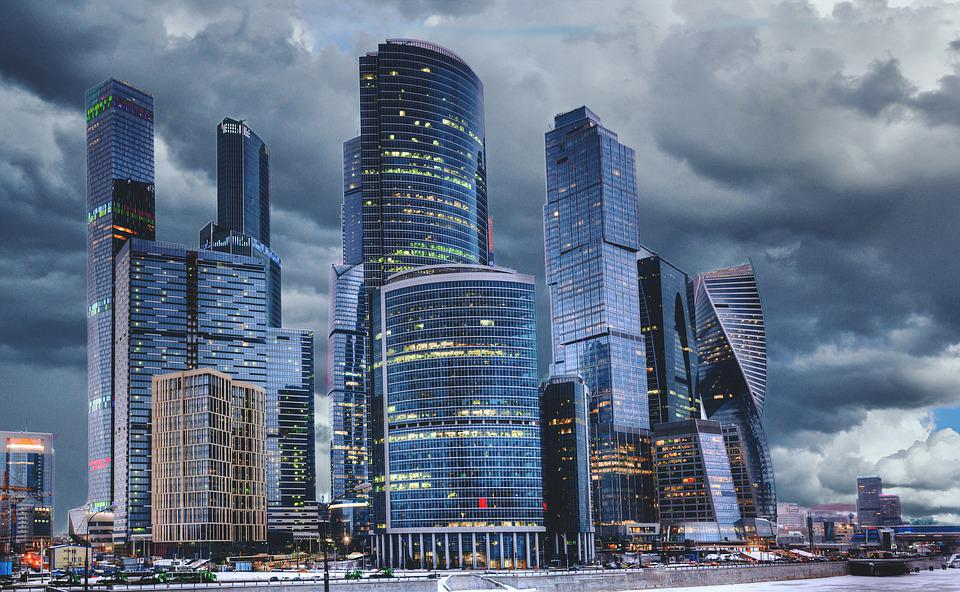 City, Street, Architecture, Business, Skyscrapers