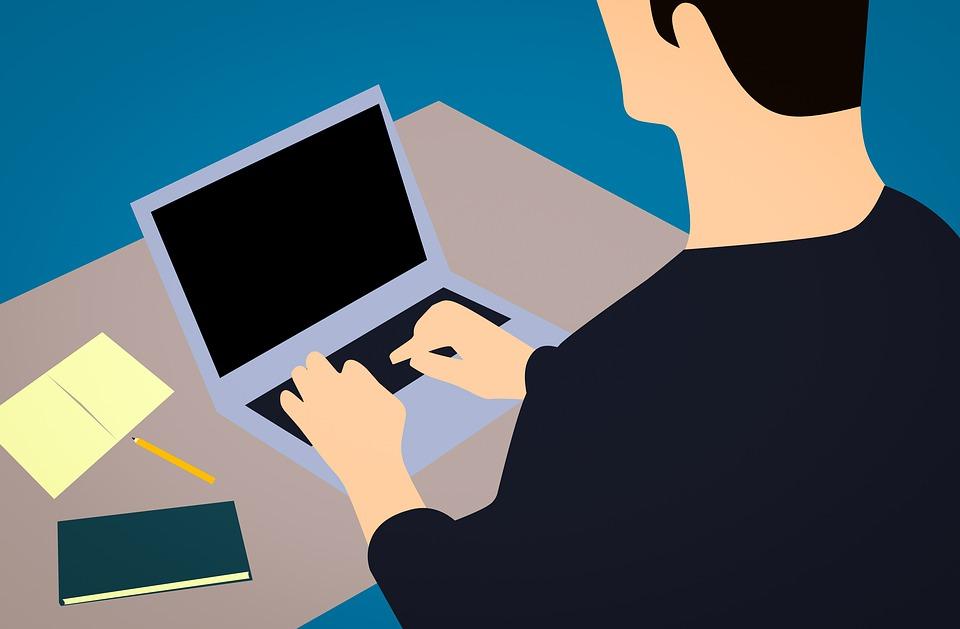 Blogging, Blogger, Office, Business, Notebook