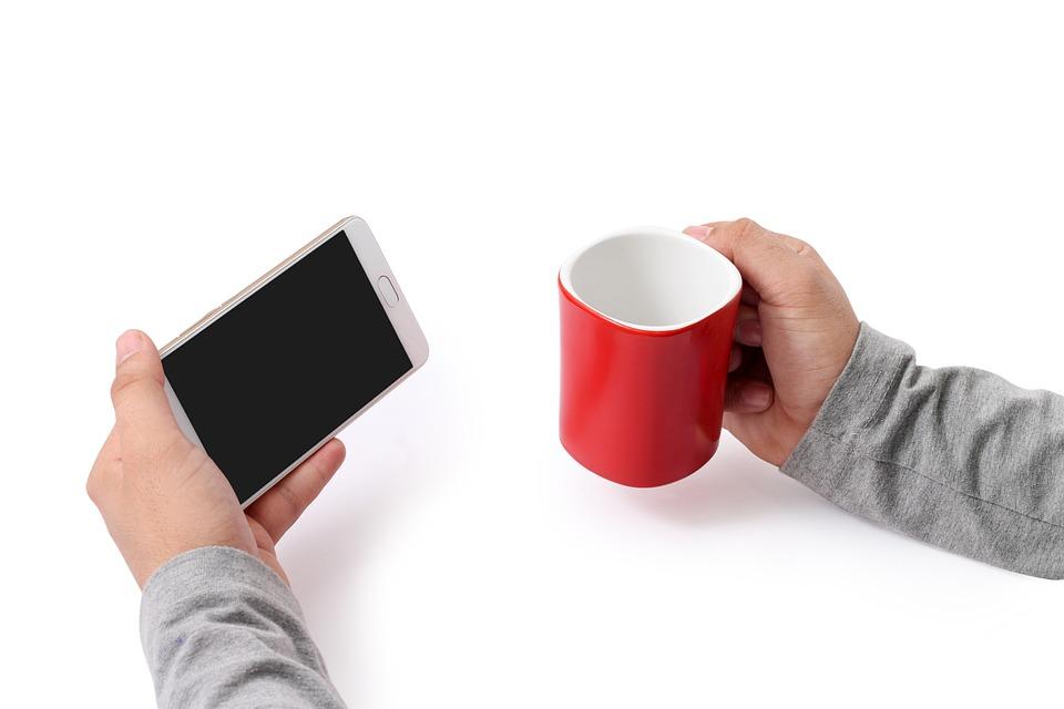 Business, Cabin, Cup, Desk, Coffee, Calculator, Mobile