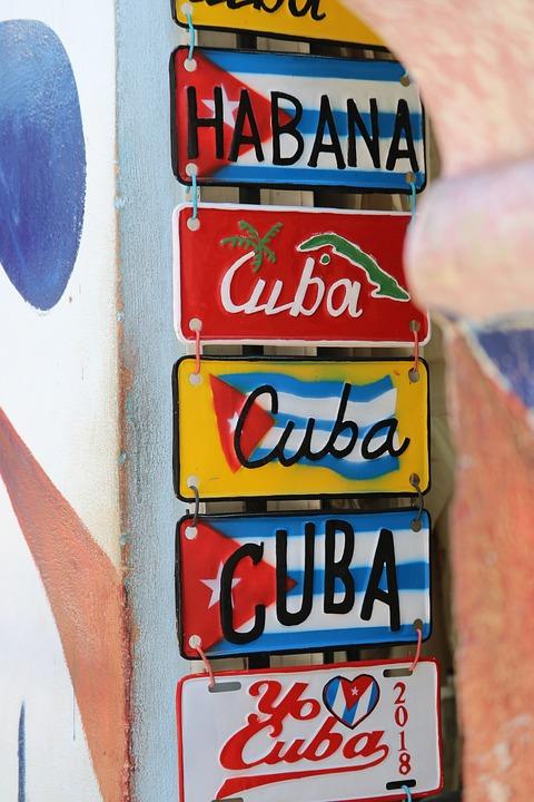 Text, Business, Cuba
