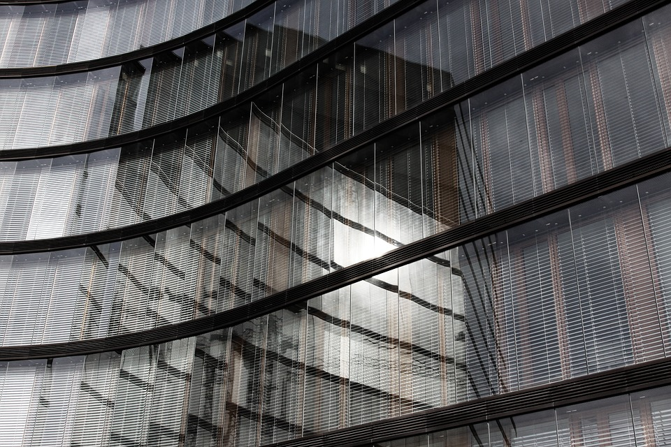 Free photo Business Glass Office Building Glass Facade  Max Pixel