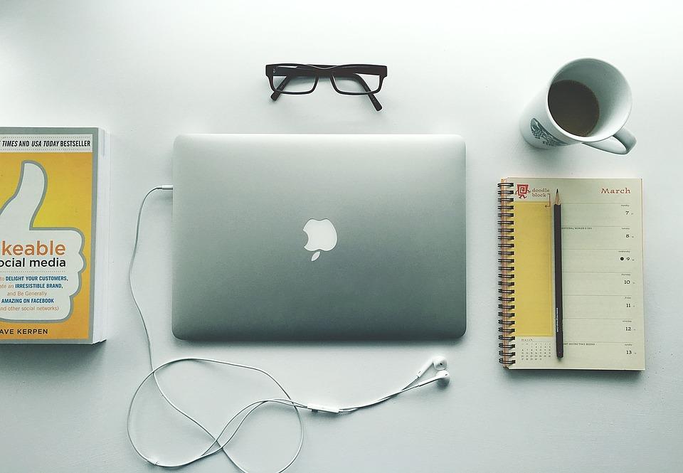 Web Design, Notebook, Computer, Office, Business, Desk