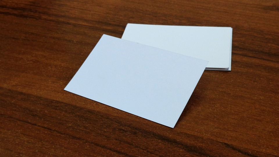 Free photo Business Paper Mockup Firm Business Card Card - Max Pixel